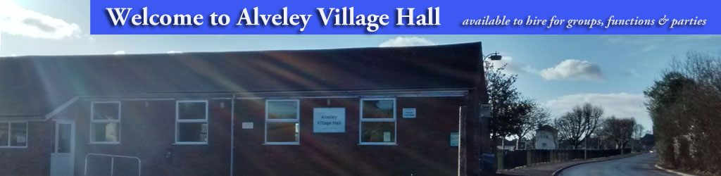 Alveley Village Hall Live